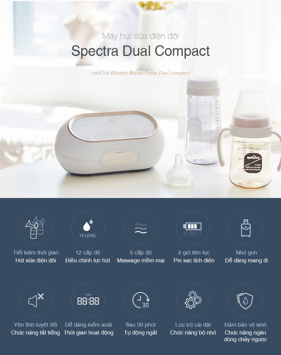 MÁY HÚT SỮA SPECTRA DUAL COMPACT