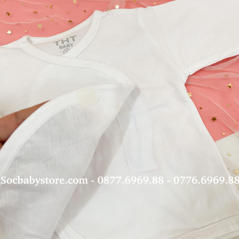 Áo dán sơ sinh cotton cao cấp