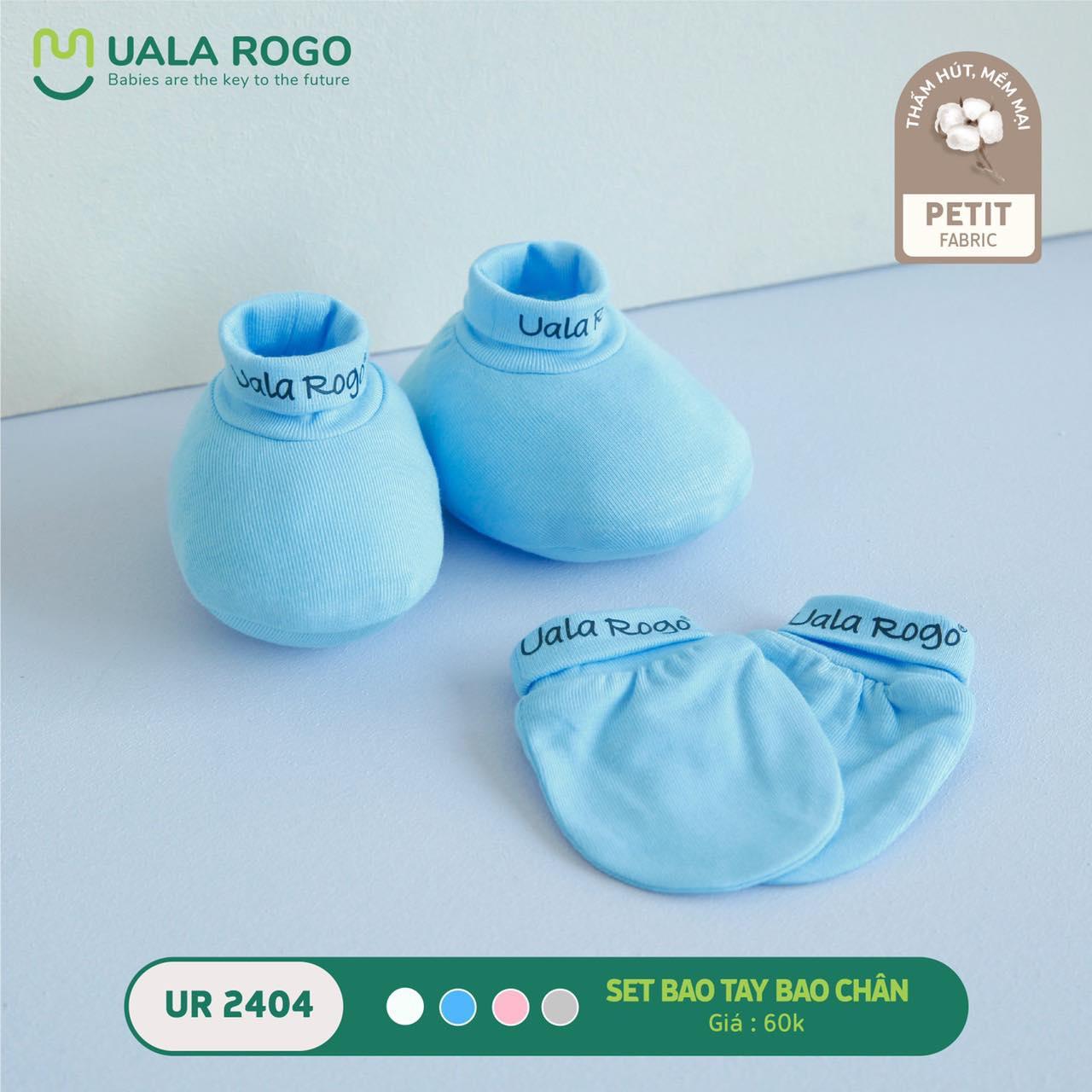 Set bao tay chân Ualarogo Petit màu trơn