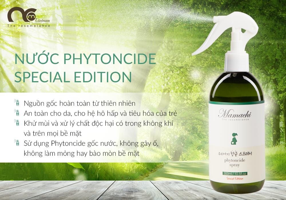 Nước Phytoncide tươi thanh lọc & làm sạch không khí đồ dùng