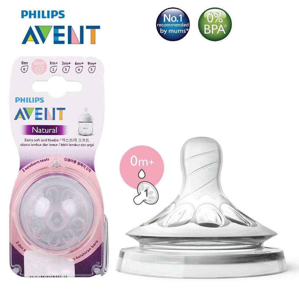 Núm ty Philips Avent Natural 0M+