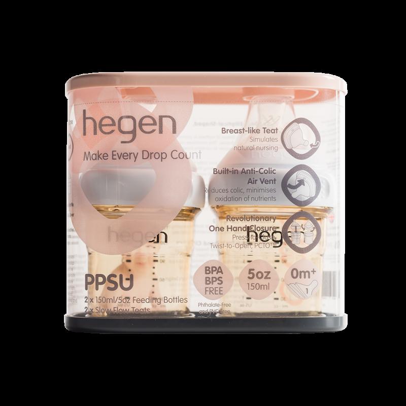 Bộ 2 Bình sữa Hegen PPSU 150ml