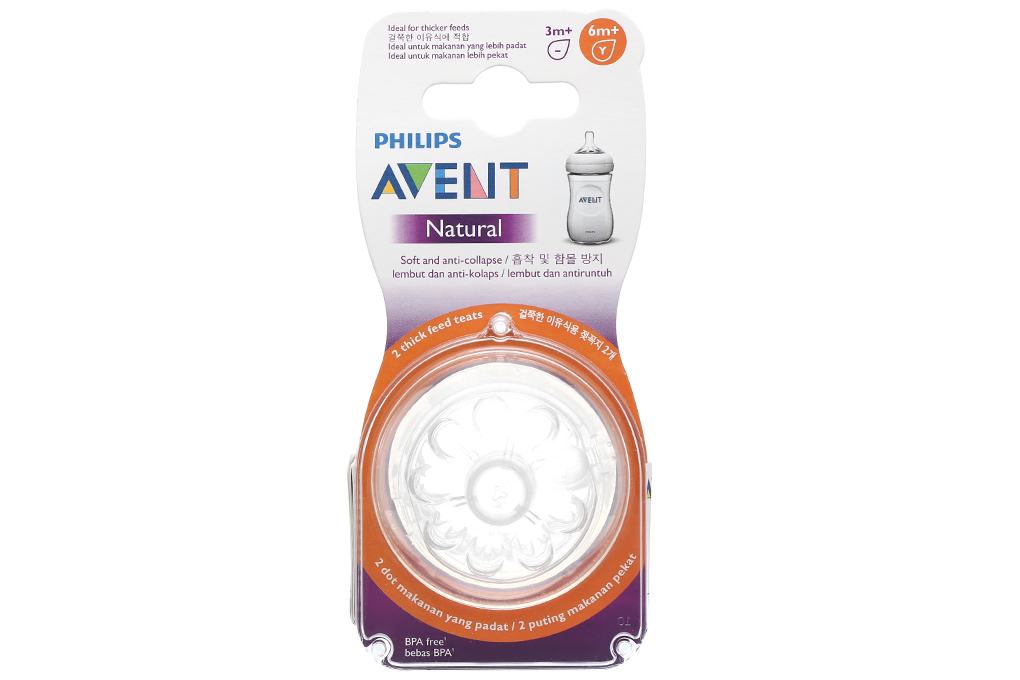 Núm ty Philips Avent Natural