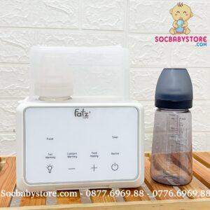Máy hâm sữa tiệt trùng điện tử Fatzbaby Duo 3 PLUS +