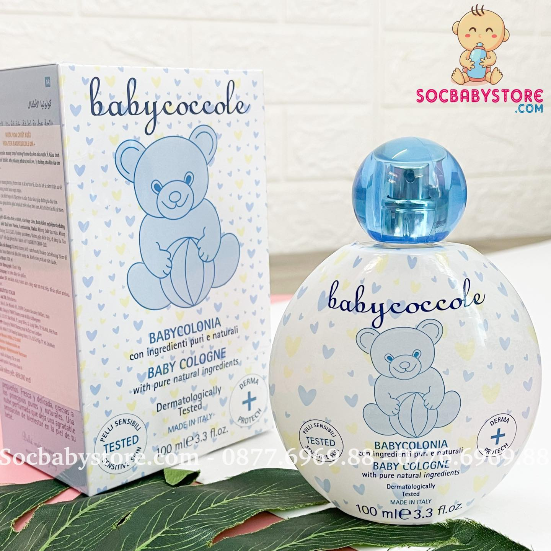 Nước hoa chiết xuất hoa sen Babycoccole 0M+